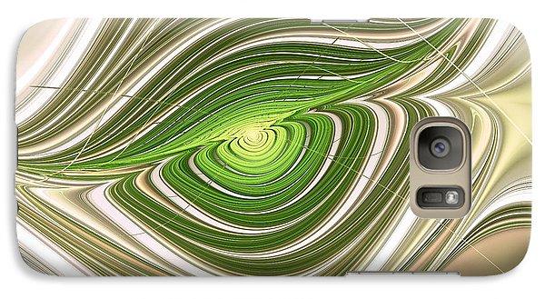 Galaxy Case featuring the digital art Hypnotic Eye by Anastasiya Malakhova