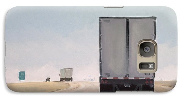 Truck Galaxy S7 Case - I-55 North 9am by Jeffrey Bess