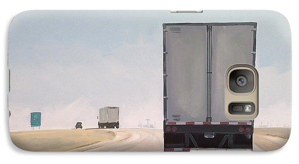 I-55 North 9am Galaxy S7 Case by Jeffrey Bess