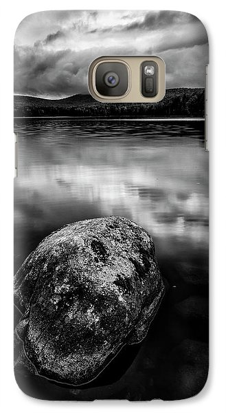 Galaxy Case featuring the photograph I Am A Rock by Mike Lang