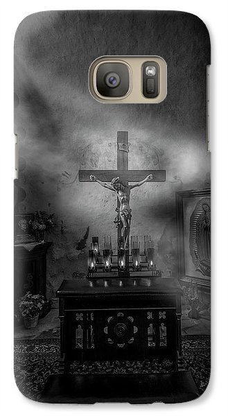 Galaxy Case featuring the photograph I Am The Light Of The World by David Morefield