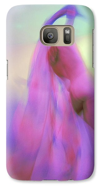 Galaxy Case featuring the photograph I Dream In Colors by Joe Kozlowski