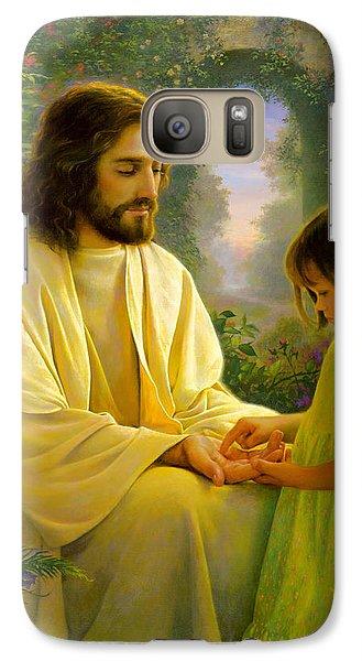 Religion Galaxy S7 Case - I Feel My Savior's Love by Greg Olsen