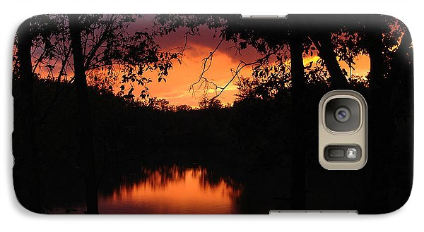 Galaxy Case featuring the photograph I Found Red October by J R Seymour