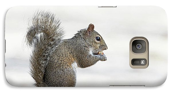 Galaxy Case featuring the photograph I Have My Nuts by Deborah Benoit