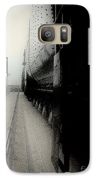 Galaxy Case featuring the drawing I Hear That Lonesome Whistle Blow by RC deWinter