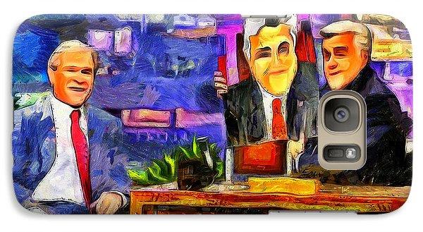 I Like To Paint Dogs Too - Da Galaxy Case by Leonardo Digenio