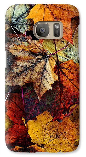 Galaxy Case featuring the photograph I Love Fall 2 by Joanne Coyle