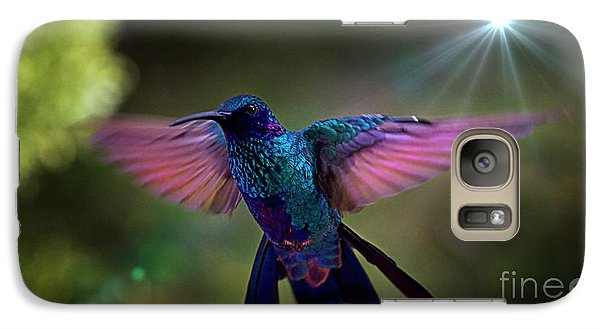 Galaxy Case featuring the photograph I Love Tom Thumb by Al Bourassa