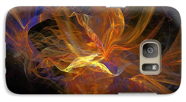 Galaxy Case featuring the digital art I Love You by Sipo Liimatainen