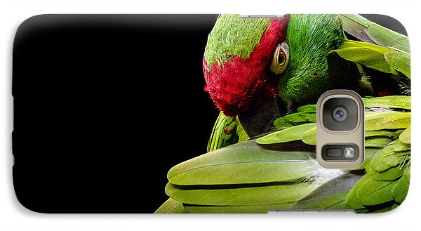 Galaxy Case featuring the photograph I See You by Rob Amend