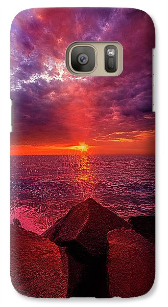 Galaxy Case featuring the photograph I Still Believe In What Could Be by Phil Koch