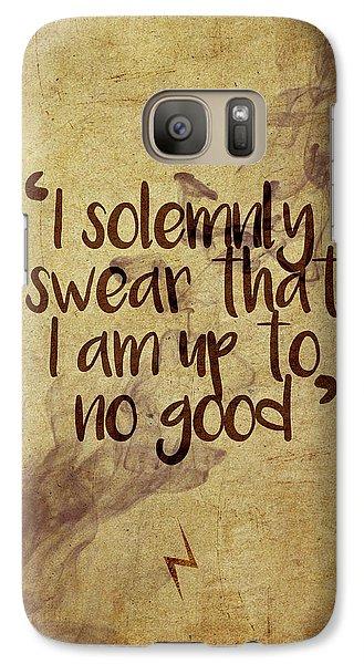 Wizard Galaxy S7 Case - I Swear by Samuel Whitton