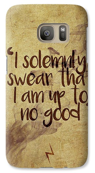 Wizard Galaxy S7 Case - I Swear by Samuel Whitton