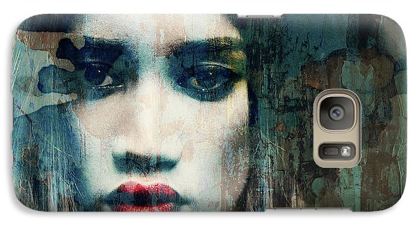 Galaxy Case featuring the mixed media I Want To Know What Love Is  by Paul Lovering