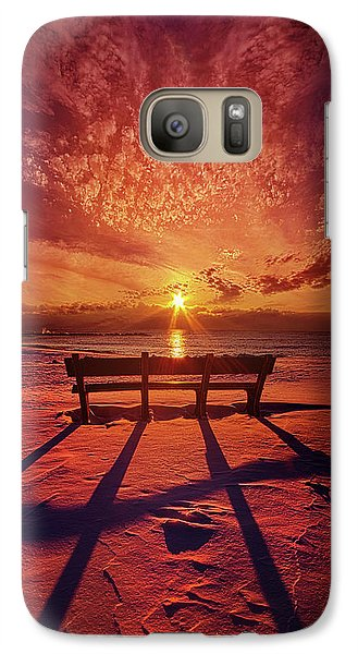 Galaxy Case featuring the photograph I Will Always Be With You by Phil Koch