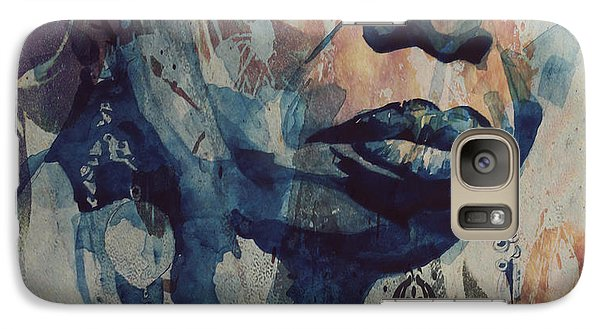 Rhythm And Blues Galaxy S7 Case - I Wish I Knew How It Would Be  Feel To Be Free by Paul Lovering