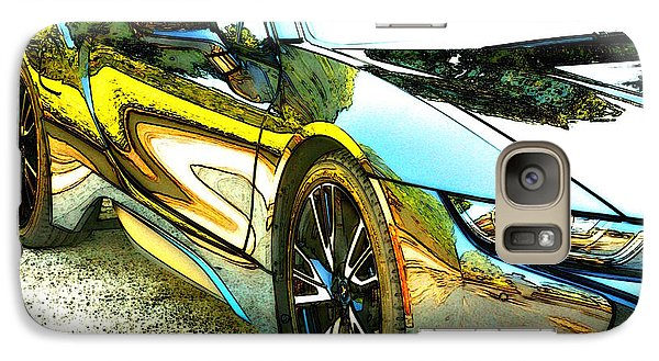 Galaxy Case featuring the photograph i8 Alien ..where's Batman? by Lynn England