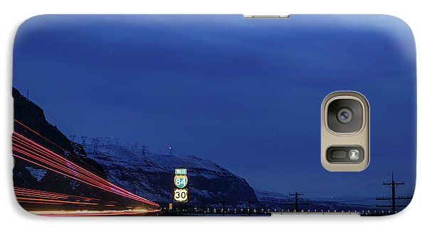 Galaxy Case featuring the photograph I84 by Cat Connor