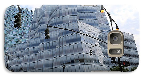 Galaxy Case featuring the photograph Iac Building By Frank Gehry In Chelsea by Steven Spak