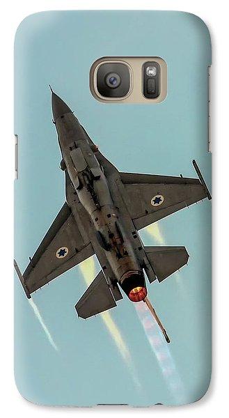 Galaxy Case featuring the photograph Iaf F-16i Sufa by Amos Dor