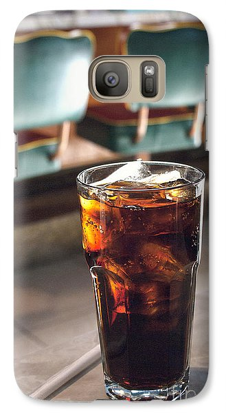 Galaxy Case featuring the photograph Ice Cold Cola by Cindy Garber Iverson