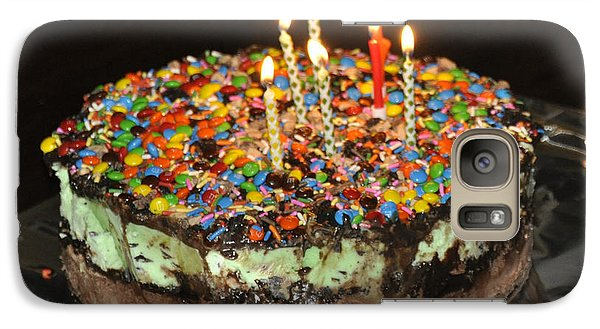 Galaxy Case featuring the photograph Ice Cream Cake by Cheryl McClure