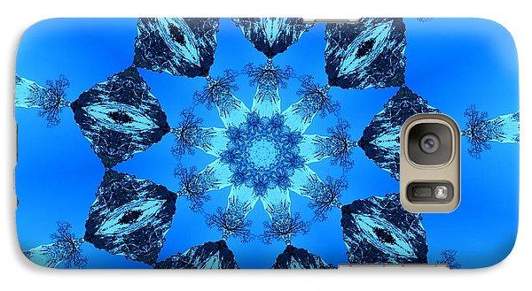 Ice Cristals Galaxy S7 Case