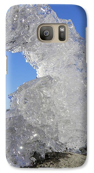 Galaxy Case featuring the photograph Ice Dragon by Sami Tiainen