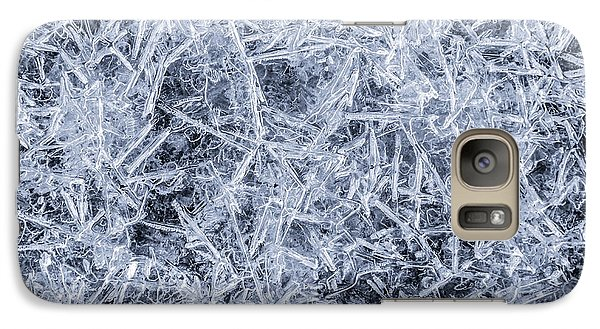 Galaxy Case featuring the photograph Ice On Minnehaha Creek  by Jim Hughes