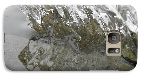 Galaxy Case featuring the photograph Ice On Water 1 by Sami Tiainen