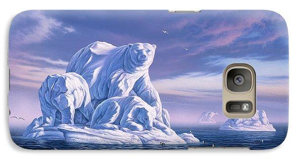 Seagull Galaxy S7 Case - Icebeargs by Jerry LoFaro