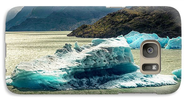 Galaxy Case featuring the photograph Iceberg by Andrew Matwijec