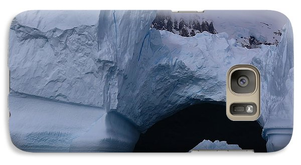 Galaxy Case featuring the photograph Iceberg Passthrough by Andrei Fried