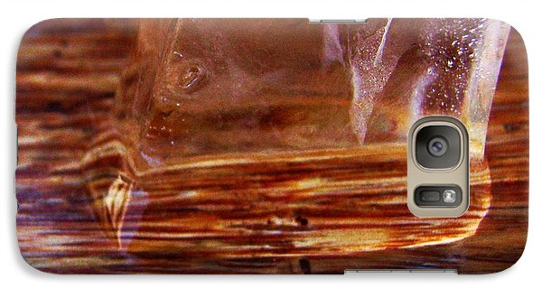 Galaxy Case featuring the photograph Icecube Trail by Vanessa Palomino