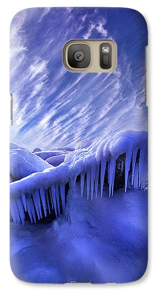Galaxy Case featuring the photograph Iced Blue by Phil Koch