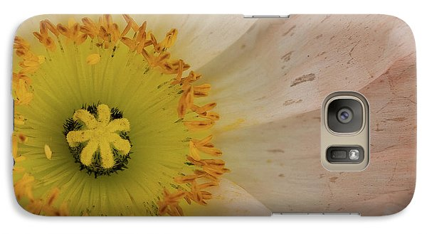 Galaxy Case featuring the photograph Icelandic Poppy by Roger Mullenhour