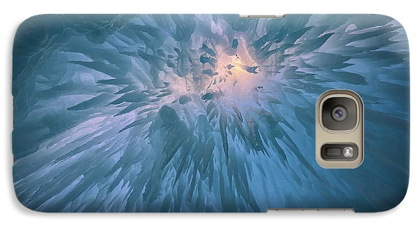 Galaxy Case featuring the photograph Icicles by Rick Berk