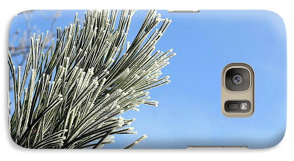 Galaxy Case featuring the photograph Icing On The Needles by Michal Boubin