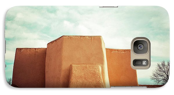 Galaxy Case featuring the photograph Iconic Church In Taos by Marilyn Hunt
