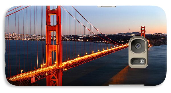 Iconic Golden Gate Bridge In San Francisco Galaxy S7 Case by Pierre Leclerc Photography