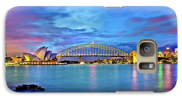 Icons Of Sydney Harbour Galaxy S7 Case