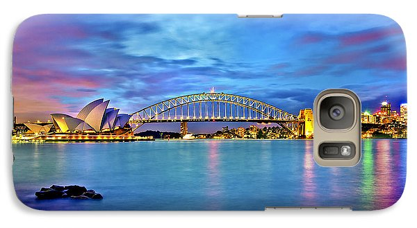 Icons Of Sydney Harbour Galaxy S7 Case by Az Jackson