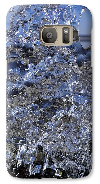 Galaxy Case featuring the photograph Icy Beach View 1 by Sami Tiainen