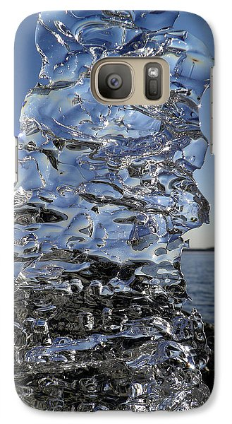Galaxy Case featuring the photograph Icy Beach View 3 by Sami Tiainen