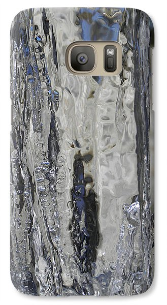 Galaxy Case featuring the photograph Icy Beach View 4 by Sami Tiainen