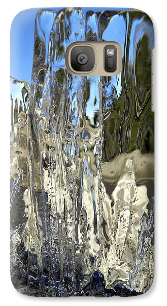 Galaxy Case featuring the photograph Icy Beach View 5 by Sami Tiainen