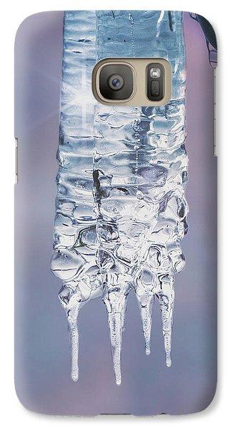 Galaxy Case featuring the photograph Icy Beauty by Ari Salmela