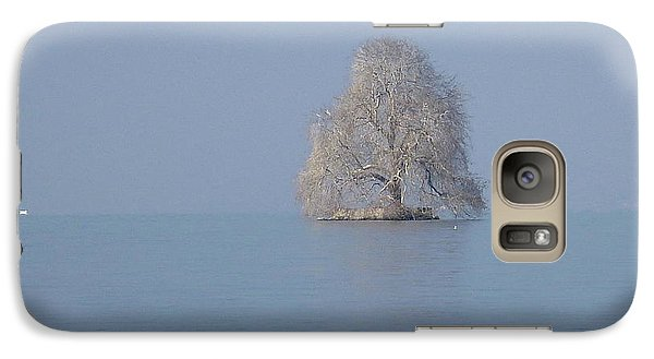 Galaxy Case featuring the photograph Icy Isolation by Christin Brodie
