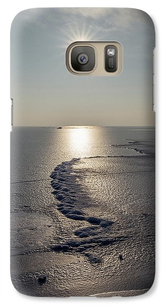 Galaxy Case featuring the photograph Icy World by Davorin Mance